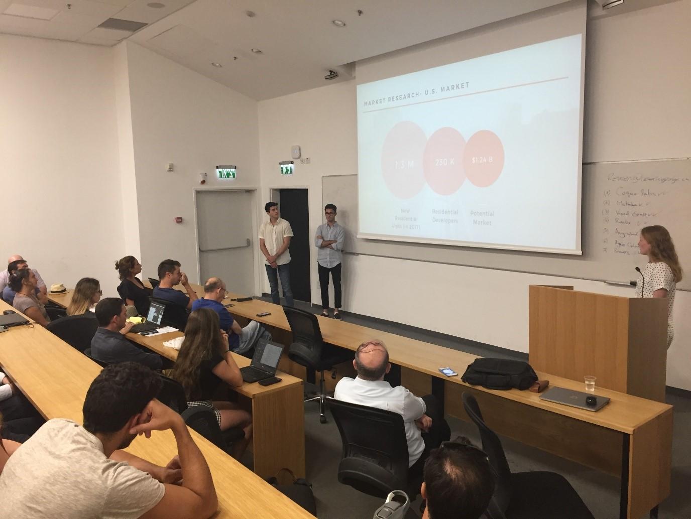 סיכום תוכנית – Global Entrepreneurship and Management Consulting